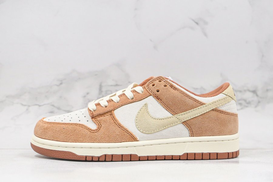 Nike Dunk Low PRM Sail Medium Curry-Fossil DD1390-100 For Sale