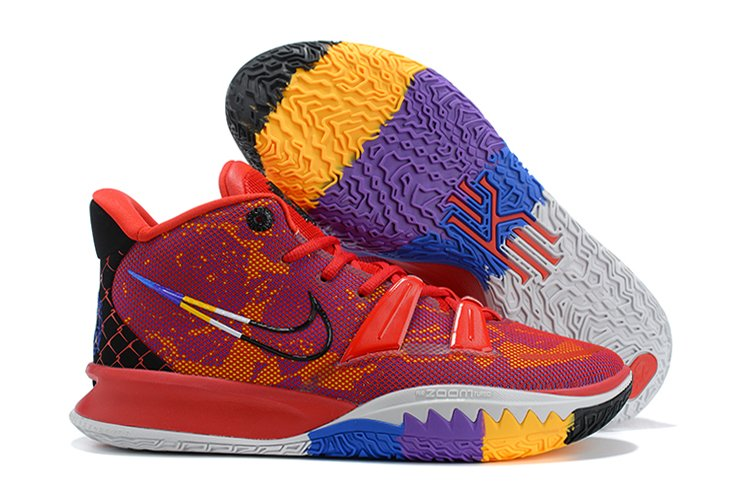 Nike Kyrie 7 Icons Of Sport Red Multicolor DC0589-600 For Sale