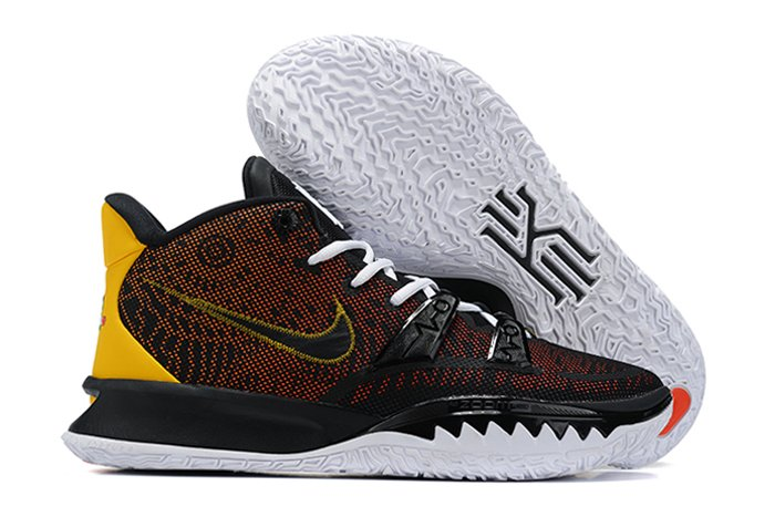 Nike Kyrie 7 Raygun Black Orange Yellow To Buy