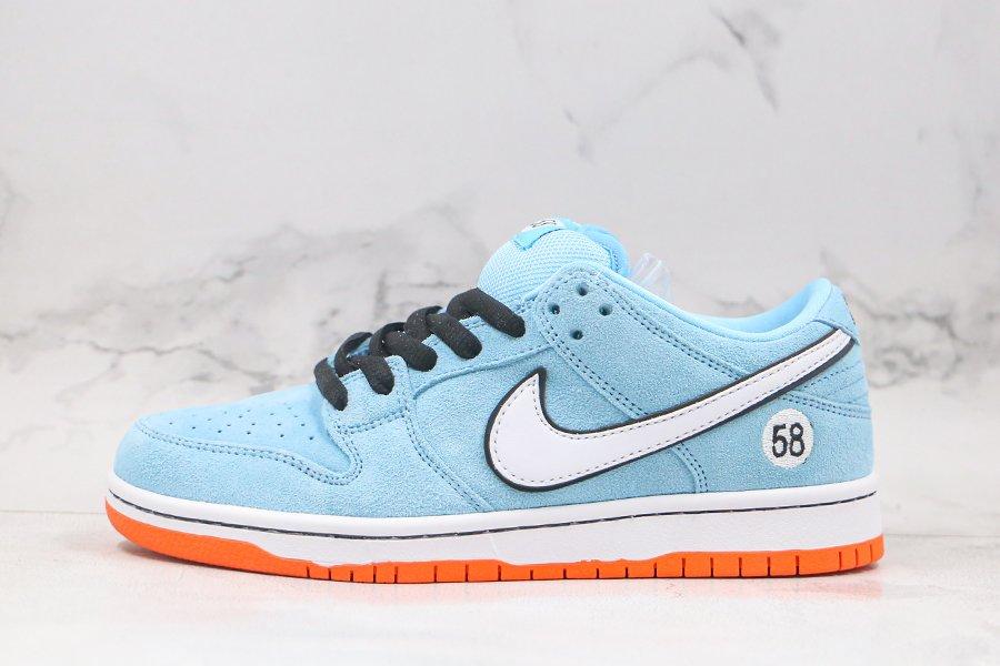 Nike SB Dunk Low Pro Club 58 Blue Orange For Sale