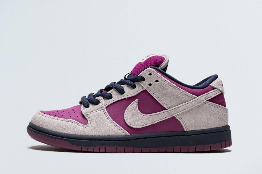 Nike SB Dunk Low True Berry Atmosphere Grey BQ6817-001 For Sale