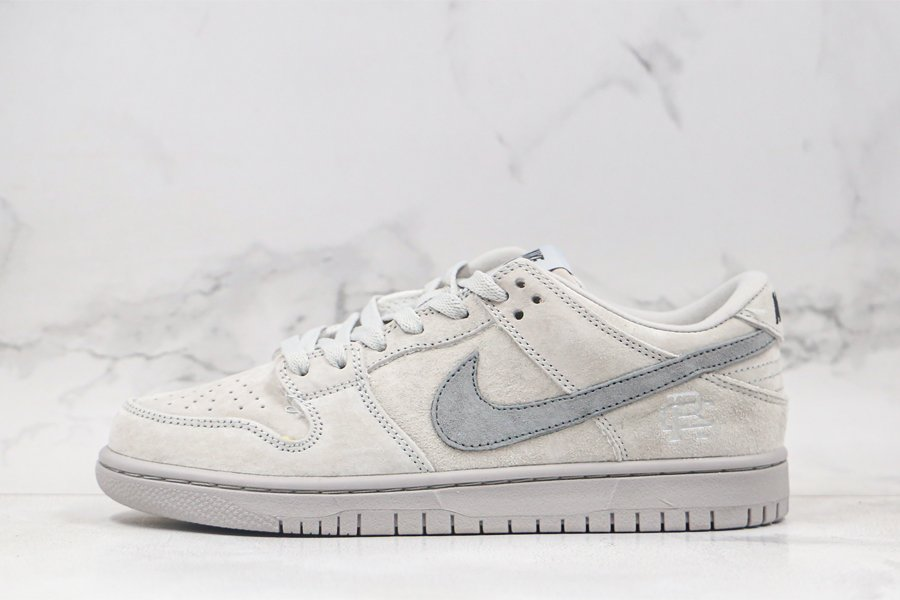 Reigning Champ x Nike SB Dunk Low Pro Grey To Buy