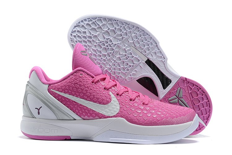 2021 Nike Kobe 6 Protro Think Pink Pinkfire Metallic Silver-White