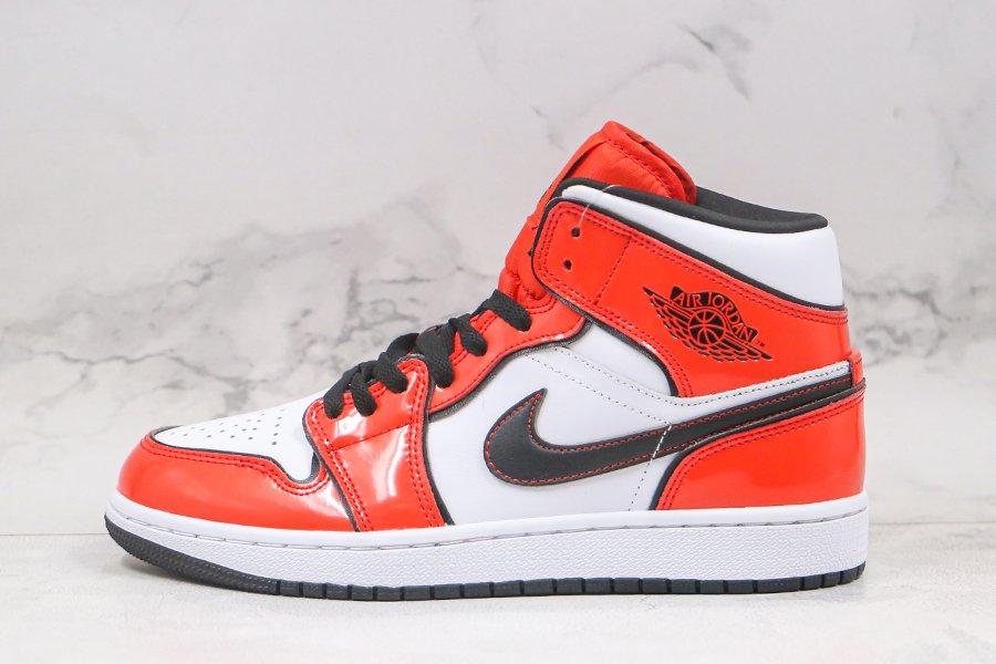 Air Jordan 1 Mid Vibrant Turf Orange DD6834-802 Outlet
