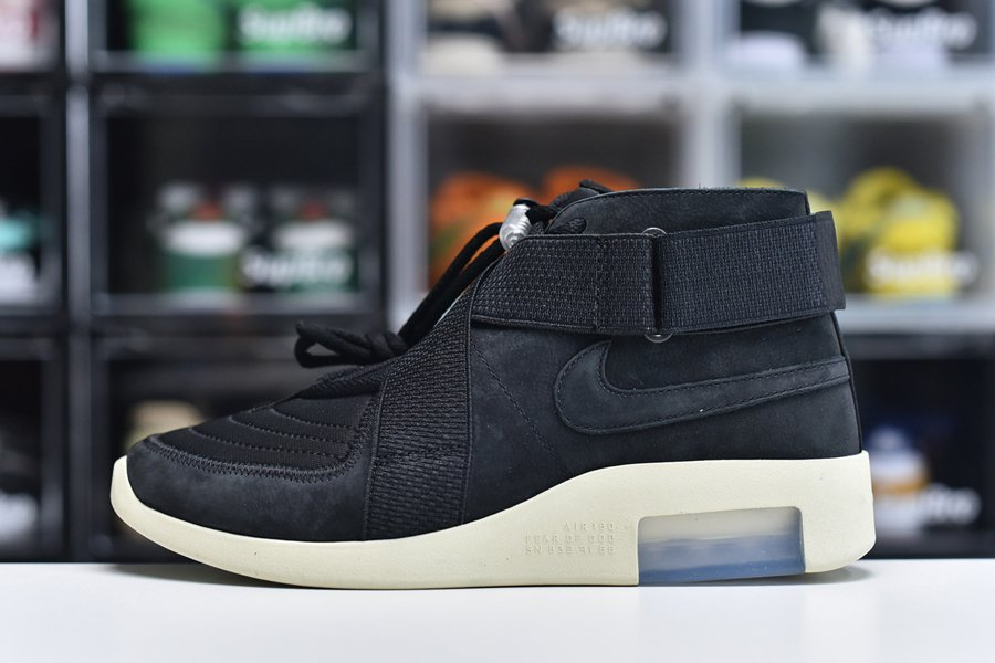 Nike Air Fear Of God Raid Black Fossil AT8087-002 For Sale