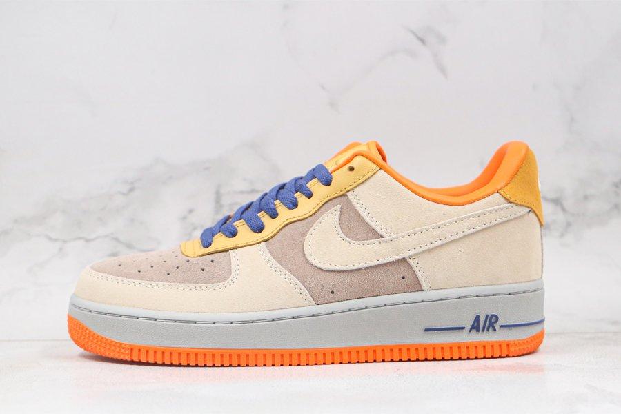 Nike Air Force 1 Low Sail Orange Yellow Blue To Buy