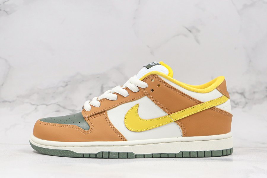 Nike Dunk SB Low Vapour Mineral Yellow For Sale