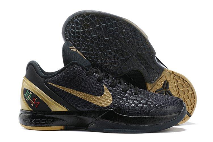 Nike Zoom Kobe 6 BHM Black Gold To Buy