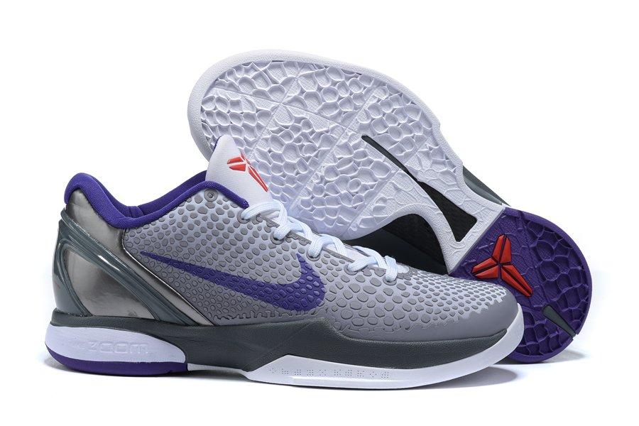 Nike Zoom Kobe 6 China Grey Purple To Buy