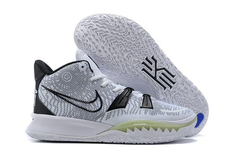 White Black Nike Kyrie 7 With Glow-in-the-Dark Forefoot Teeth Outlet