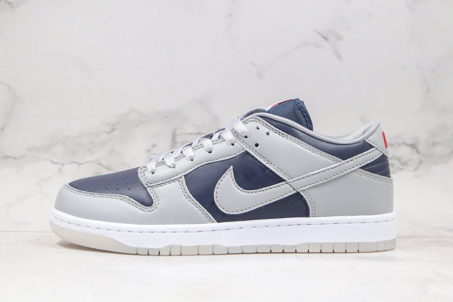 2021 Nike Dunk Low SP College Navy Wolf Grey-University Red Sale