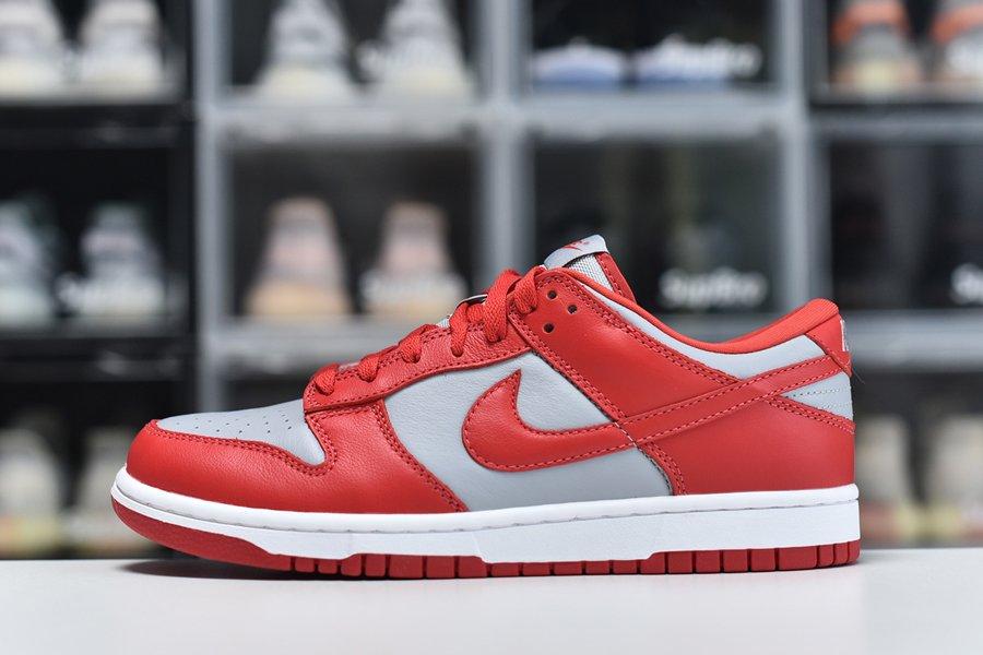 2021 Nike Dunk Low UNLV Soft Grey University Red-White