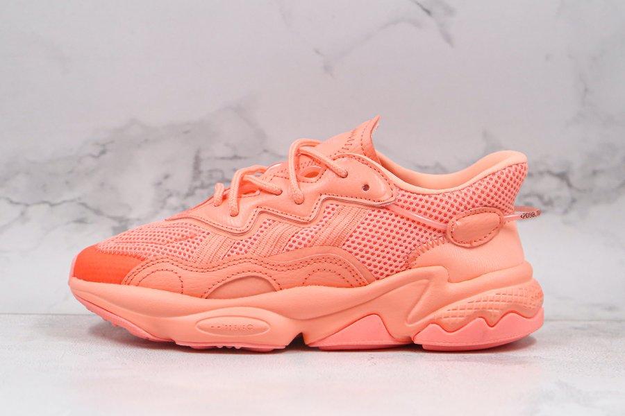 Adidas Originals Ozweego Marathon Running Shoes Orange FZ0628 Sale