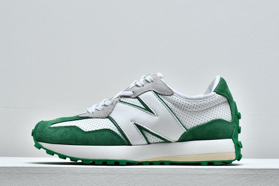 Casablanca x New Balance 327 Green White For Sale