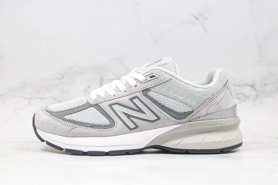 New Balance 990v4 Cloud White Grey For Sale