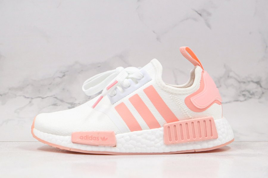adidas WMNS NMD R1 Cloud White Haze Coral FV8730 To Buy