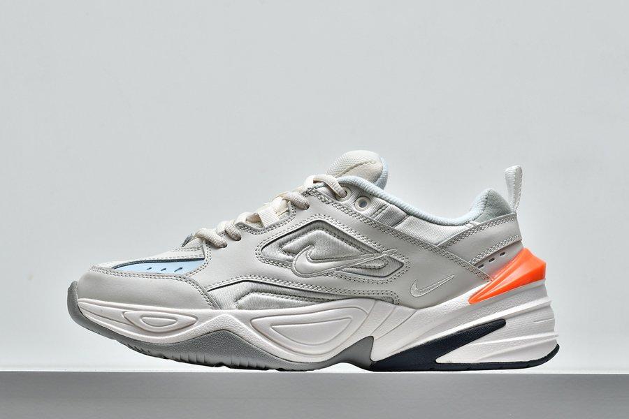 Nike M2K Tekno Phantom Oil Grey-Matte Silver Dad Shoe