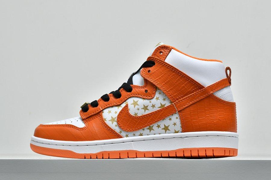 Nike SB Dunk High Supreme Orange 307385-181 Outlet