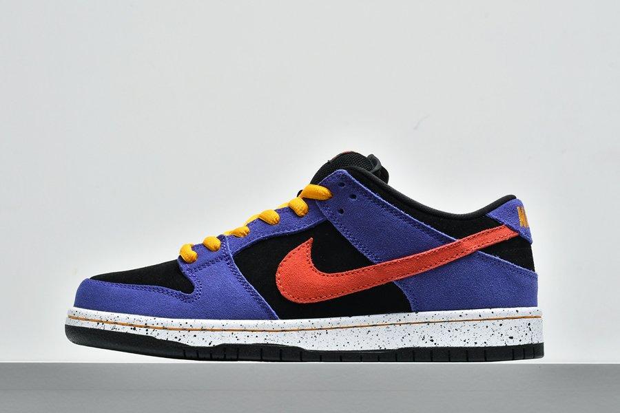 Nike SB Dunk Low ACG Black Sunburst-Varsity Purple-Taxi