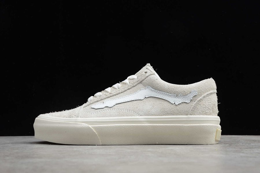 Vans Old Skool ComfyCush Blends Bones White