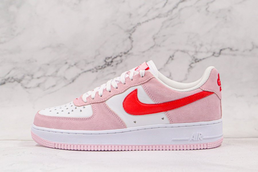 Buy Nike Air Force 1 07 QS Valentines Day Love Letter Tulip Pink