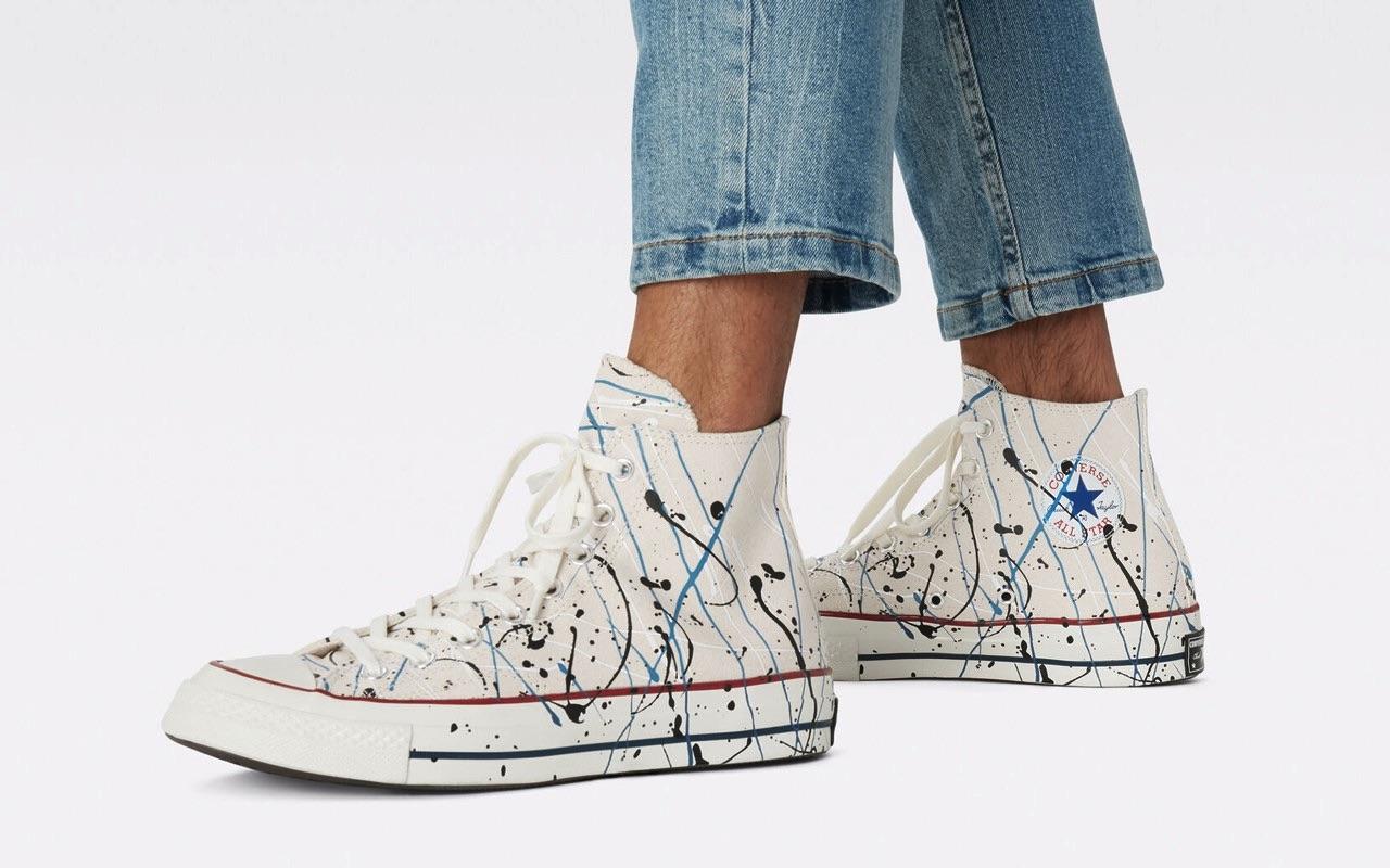 Converse Chuck 70 Hi Paint Splatter