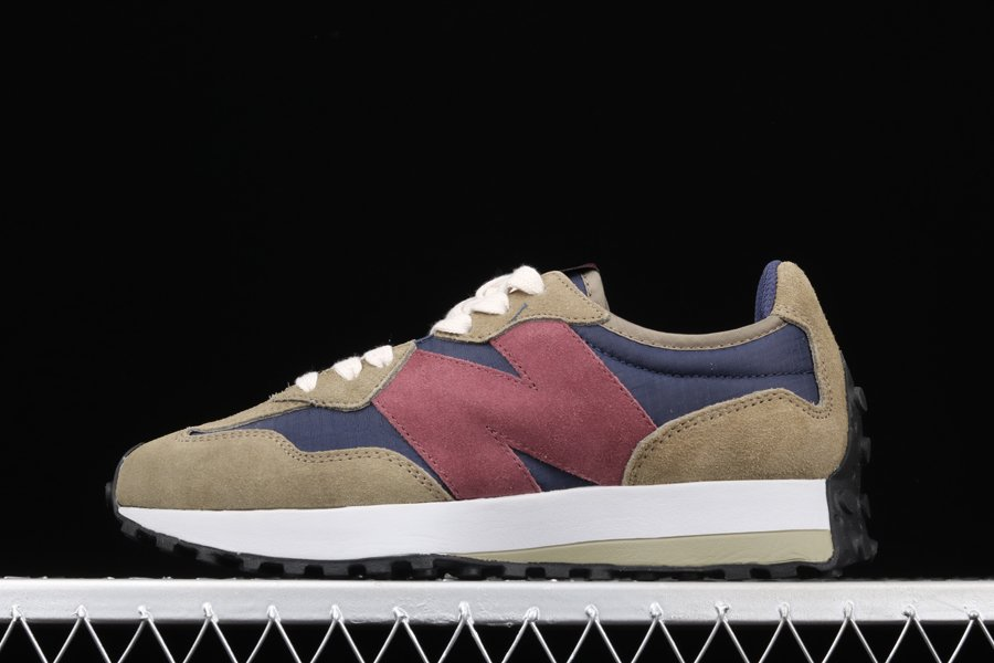 FIGS X New Balance 327 Olive Green MS327FIG