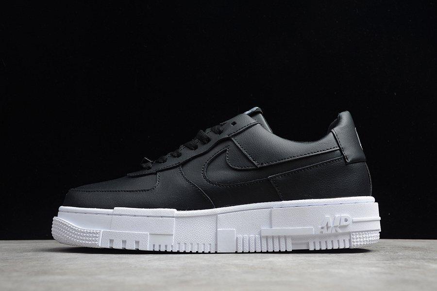 Nike Air Force 1 Pixel Sharp Black Uppers CK6649-001 On Sale