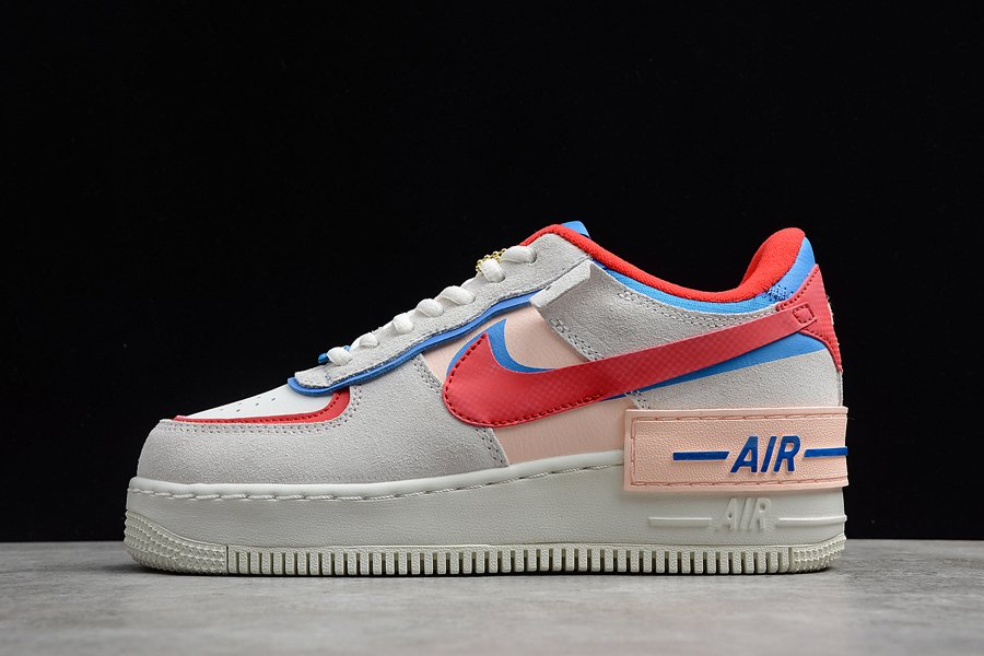 Nike Air Force 1 Shadow Sail University Red Photo Blue