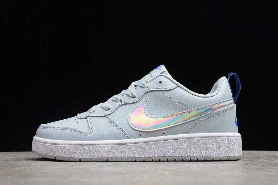 Nike Court Borough Low 2 FP Aura Sapphire-White