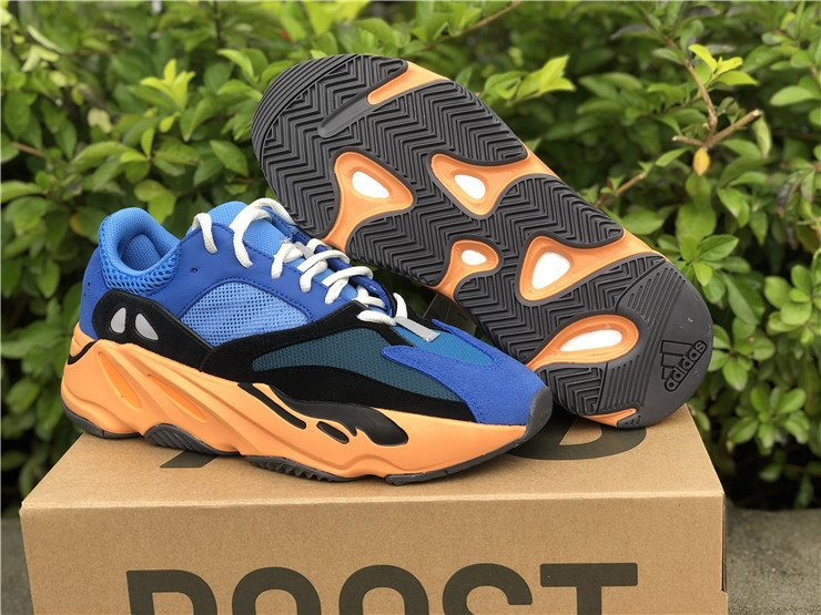 Notable adidas Yeezy BOOST 700 Bright Blue Wave Runner