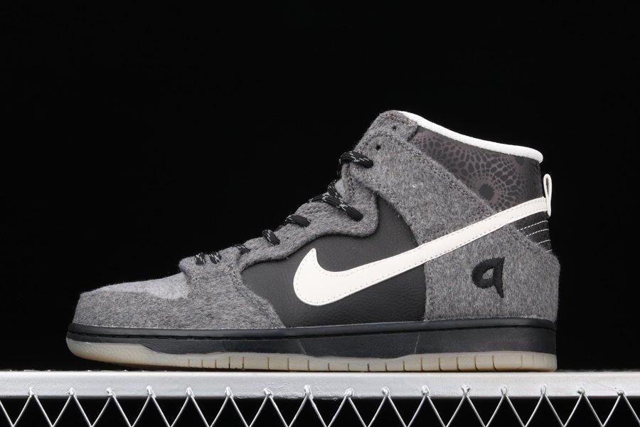 Premier x Nike SB Dunk High Petoskey Dark Charcoal White-Light Graphite