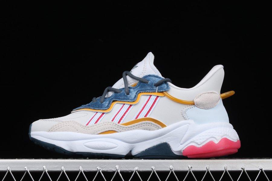Womens adidas Ozweego Aeroblue Power Pink-Legacy Blue To Buy