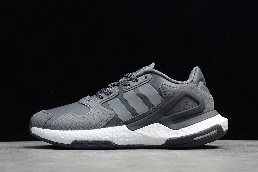 adidas Day Jogger Grey Black White On Sale