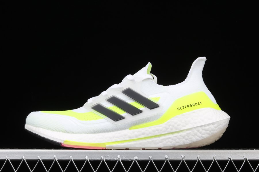 adidas Ultra Boost 2021 Solar Yellow FY0377 For Sale