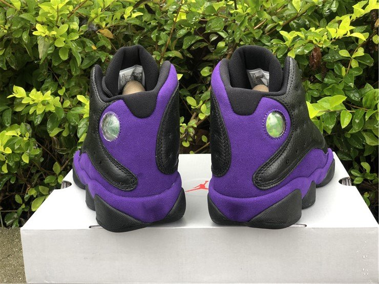 2021 Air Jordan 13 Court Purple DJ5982-015 Heel