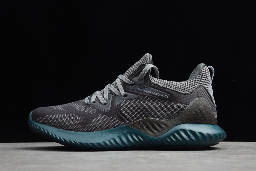 Adidas Alphabounce Beyond Black Grey Running Shoes