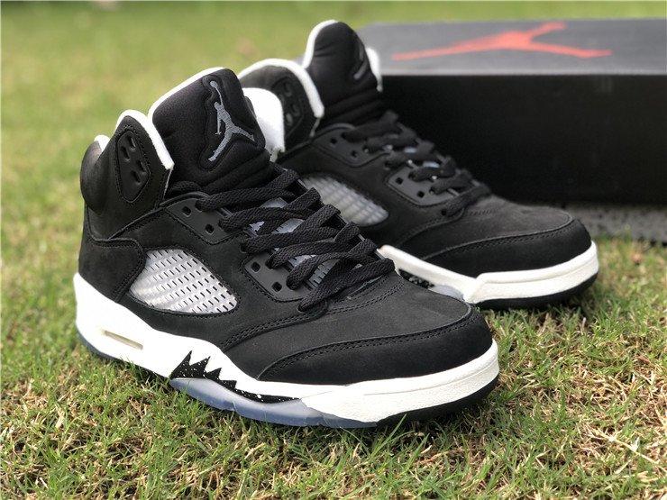 Air Jordan 5 Oreo Black White-Cool Grey CT4838-011 On Sale
