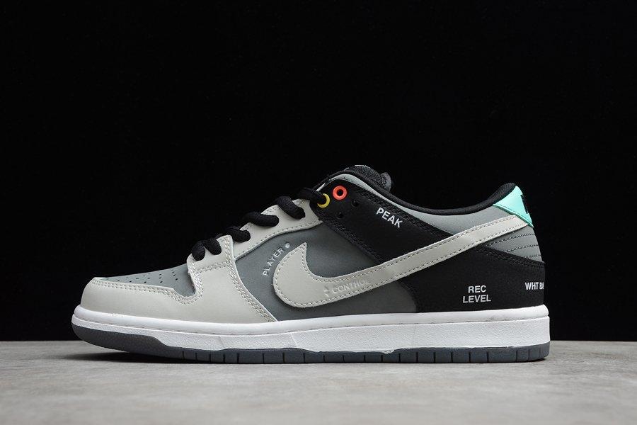 Kaufen Nike SB Dunk Low VX1000 Camcorder Gray Black White Schuhe Online