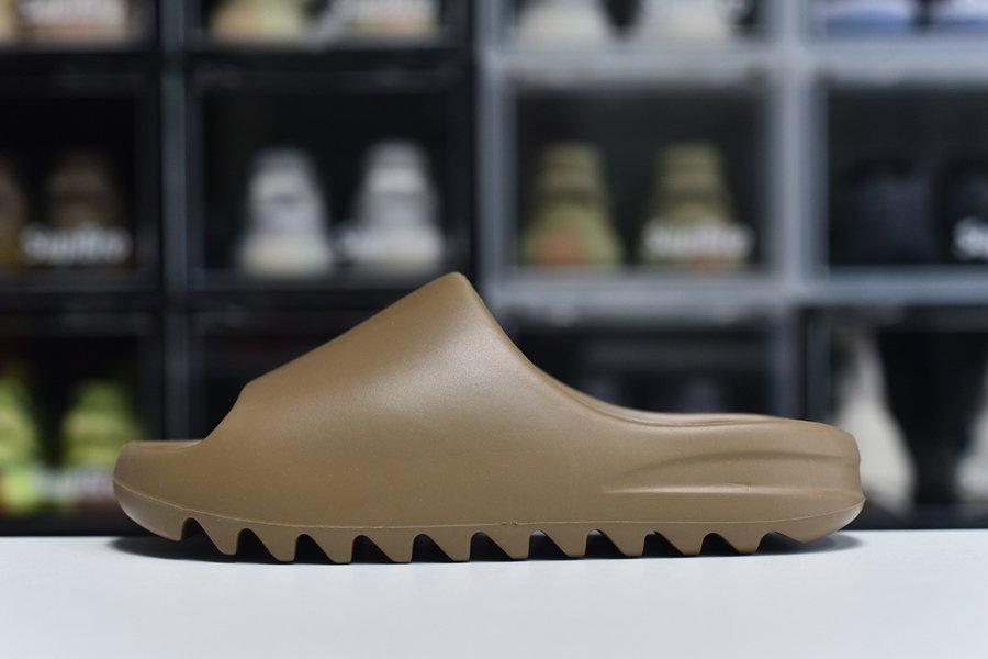 Minimalist adidas Yeezy Slides Core GW5350