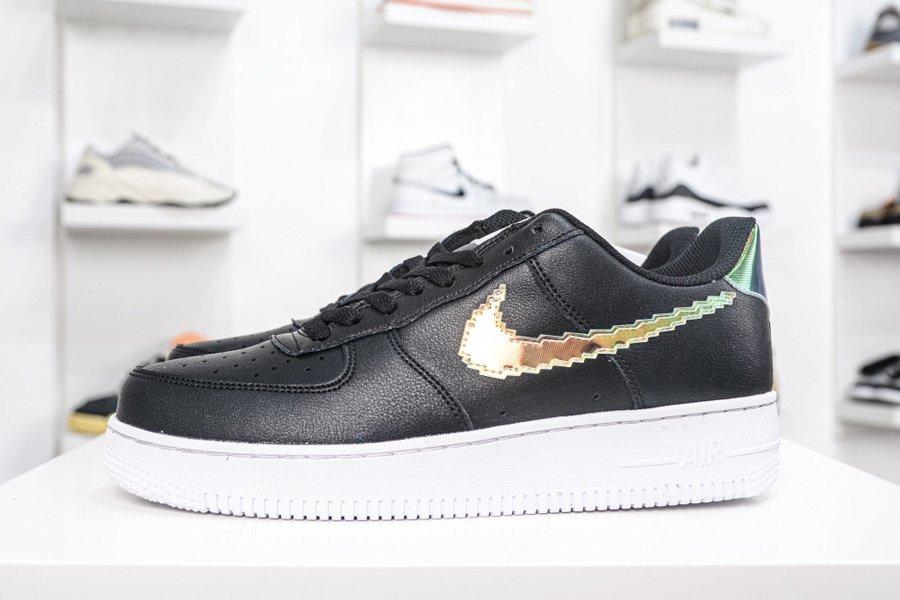 Nike Air Force 1 Low Iridescent Pixel Black Multi-Color CV1699-002 To Buy