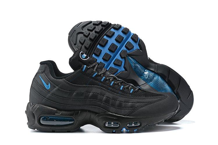 Nike Air Max 95 Black Laser Blue DC4115-001 On Sale