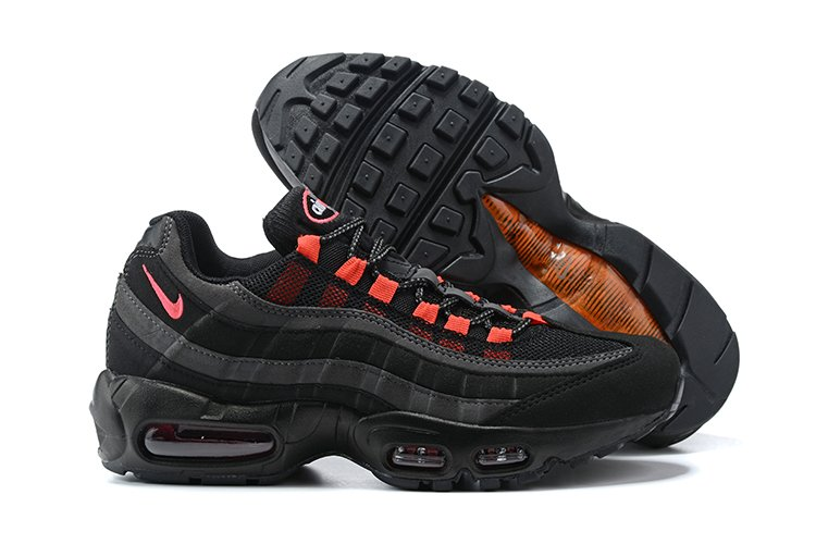 Nike Air Max 95 Black Laser Crimson DA1513-001 On Sale