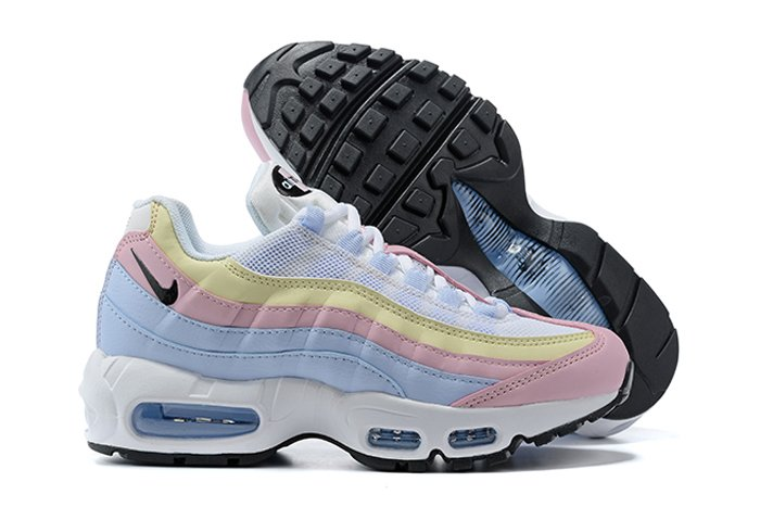 Nike Air Max 95 WMNS Ghost Black-Summit White-Barely Rose