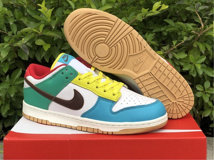 Nike Dunk Low Free 99 White Light Chocolate-Roma Green DH0952-100 To Buy