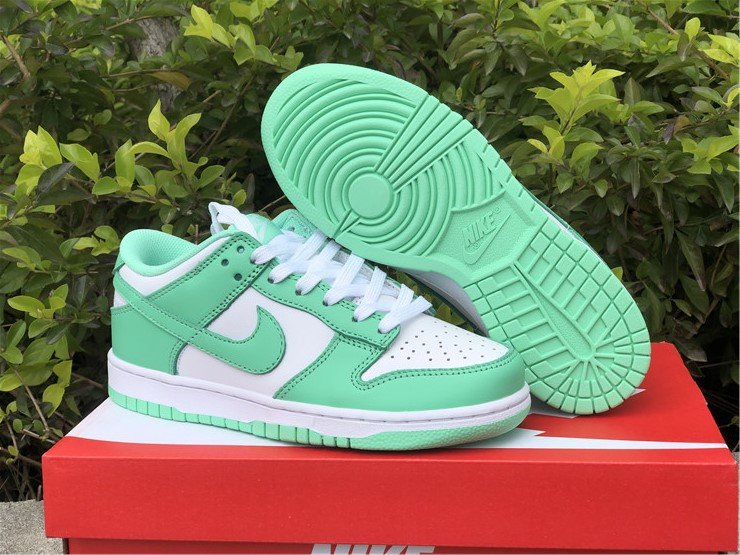 Nike Dunk Low White Green Glow DD1503-105 To Buy