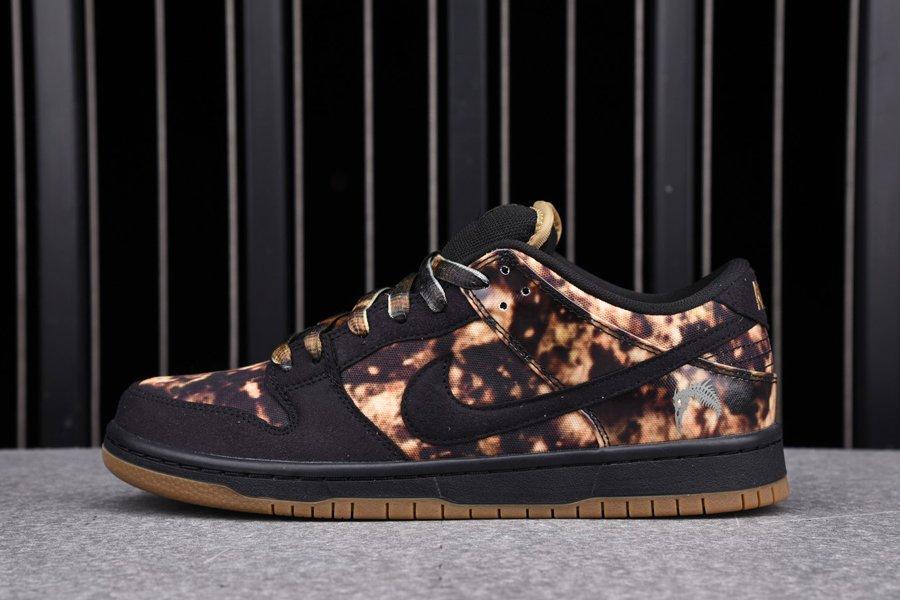 Nike Dunk SB Low Pushead 2 Black Filbert 536356-002 On Sale