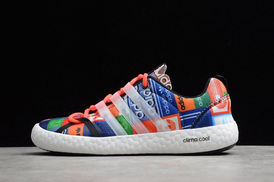 adidas Terrex ClimaCool Boat Water Shoes Orange Blue