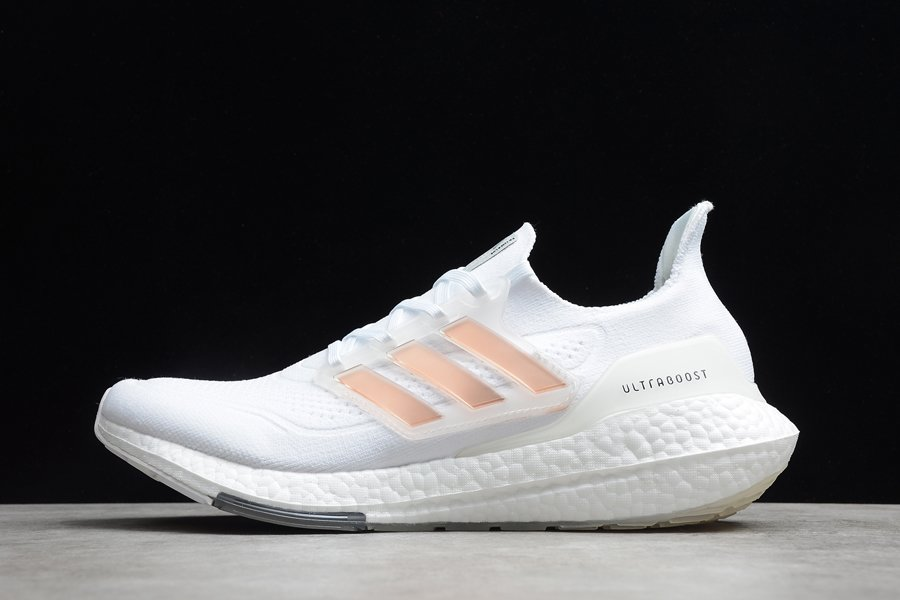adidas Ultraboost 21 Cloud White Running Shoes
