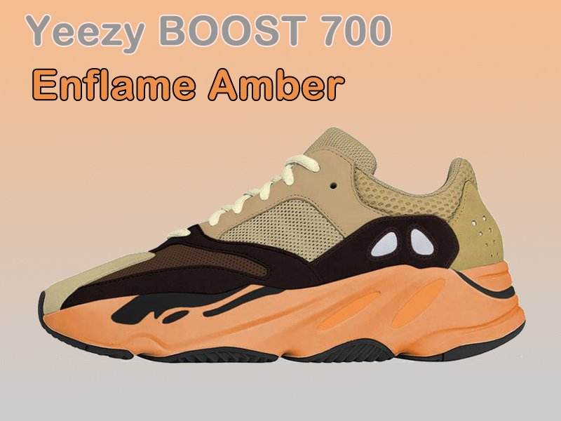 adidas Yeezy BOOST 700 Enflame Amber Lateral